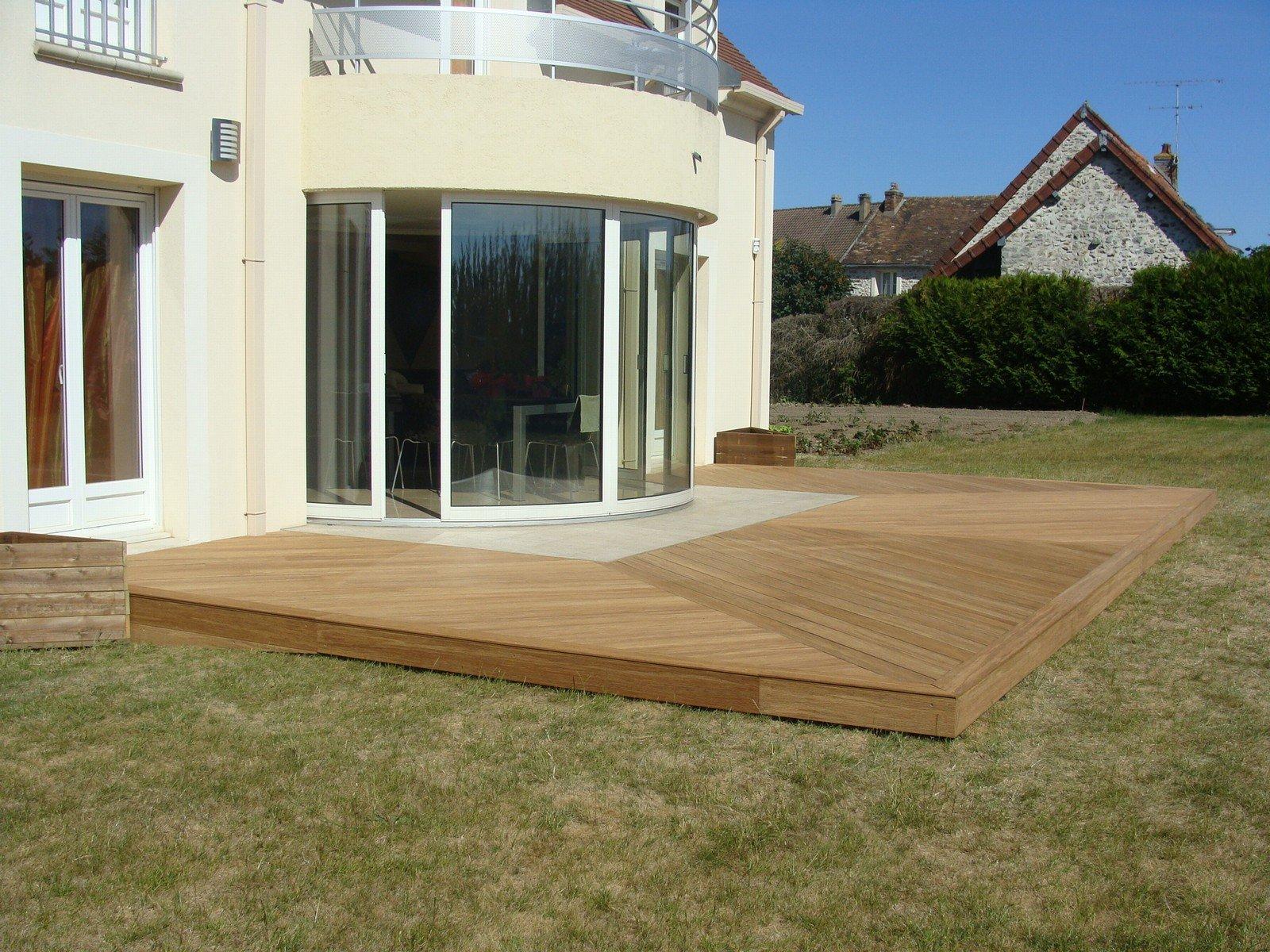 Terrasses de Normandie Terrasses en bois pour Mobil Home et maisons Terrasses en bois  # Terrasse Bois Pour Mobil Home