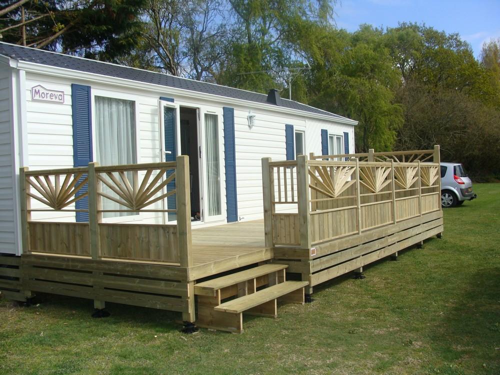 terrasse en bois pour mobil home mod le el gance terrasse bois pour mobil home. Black Bedroom Furniture Sets. Home Design Ideas