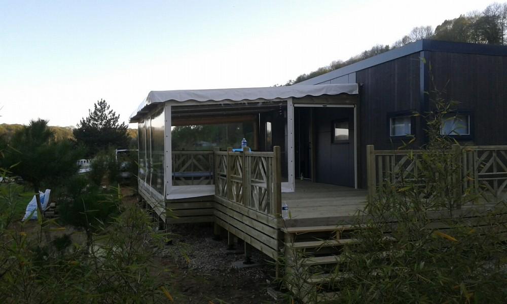 terrasse en bois pour mobil home mod u00e8le Sur Mesure terrasse bois pour mobil home # Terrasse Bois Pour Mobil Home