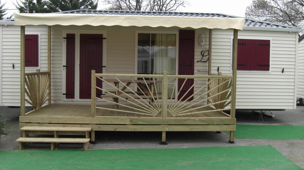 Terrasse En Bois Couverte Pour Mobil Home Mod Le B Che Terrasse Couverte Bois Pour Mobil Home