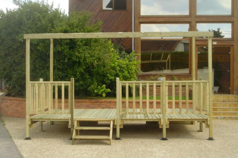 Terrasse En Bois Pour Mobil Home Modèle Locative